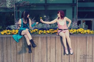 A Flower For Rinoa by claireredfieldxx