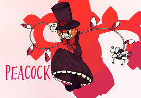 Peacock by joltikbuttfluff