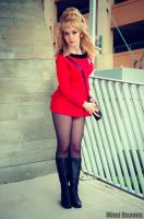 USS Enterprise Yeoman by MimiReaves
