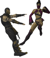[Request] Scorpion vs Mileena by Simony17y