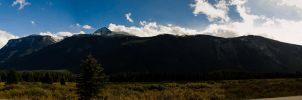 Jasper National Park Pano by KRHPhotography