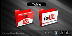 YouTube Folder by Hunthmx