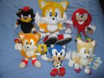 My New Sonic Plushies by sonicrules100