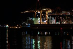 Before Dawn on the Docks 2 by clickynicky