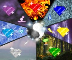 Chaos Emeralds - Elements by Icyi