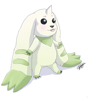 Terriermon by Pippy1994
