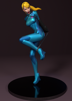 Pinups - Samus... now with more gloss! by iorelsan