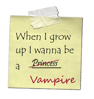 I want to Be a Vampire by megngarnett