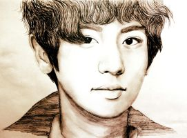 PARK CHAN YEOL by DaianaVilca
