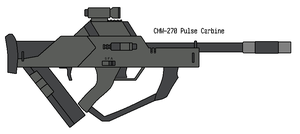 Pulse Carbine by omegafactor90
