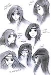 The Many Expressions of Arya by Melody-in-the-Air