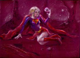 Supergirl by Kristioss