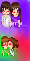 parejas parte 1 by rainbowangeliccomics