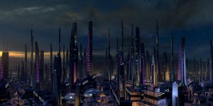 Mass Effect 2 Illium by droot1986