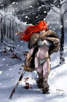 Red Sonja by MahmudAsrar