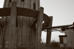 Water tower stock 01 by Metropolis-Decay