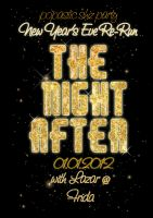 The Night After Party Poster by Laazar