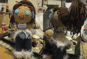 Legend of Korra: Korra Amigurumi by traffycake