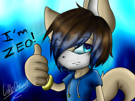 Hi my name is zeo by LittleChewrrie