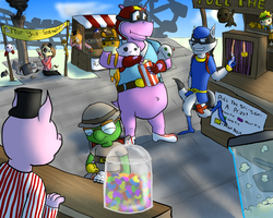 Sly Cooper: Summer Fun Contest Entry by themeguy