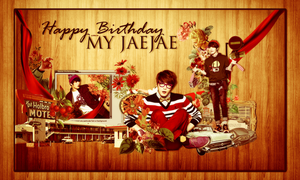 [Wallpaper] HPBD to Jaejoong by sUJiRim