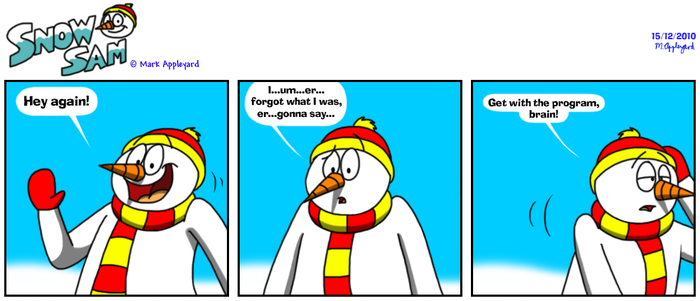 Snow Sam Comic 91 by BluebottleFlyer