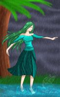 Dancing In Rain by Melody-Musique