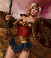 ULTRA WOMAN: Amazon Champion by Furbs3D