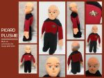 Picard Plushie by LoopyWolf