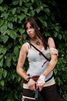 Lara Croft - Don't Mess With Me by CrystalPanda