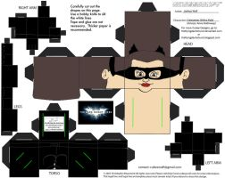 DCF5: Catwoman Cubee by TheFlyingDachshund