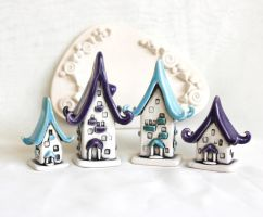 Houses of tiny fairies - 26 by vavaleff