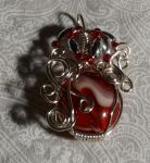 Wire pendant 225 by Kimantha333