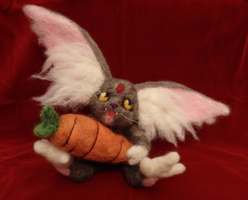 Ryo-ohki Soft Sculpture by DancingVulture