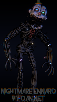 Nightmare Ennard by DaniilNetwork