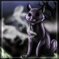 Ghost Cat -A.T by Hero-Wuff