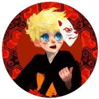 Naruto Button by Spikie