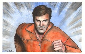 Six Million Dollar Man by Scott Sava by LittleJohn312