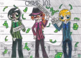:Gift: Crime 101: HAPPY BIRTHDAY, DUCKxDUCK! by kuku88
