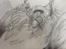 SKARNER THE CRYSTAL VANGUARD!!!!:D by NERRAD135