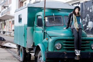 Pardis - The Truck II by sixhundredsixty
