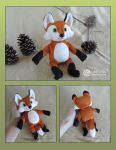 Plush Fox Pattern by LimitlessEndeavours