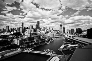 melbourne city by andthecowsgobaa