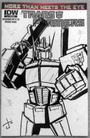 MTMTE sketch cover commish by dcjosh