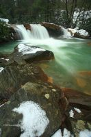 Falling West Virginia Water II by TRBPhotographyLLC