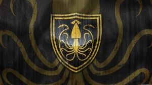 House Greyjoy Sigil Wallpaper by GaryckArntzen