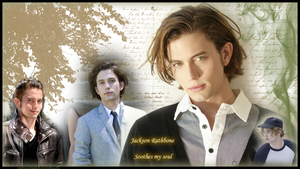 Jackson Rathbone wallpaper by Maewolf86