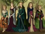 Five Blondes to Rule Them All by jjulie98