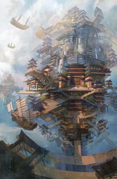 sky city by wanbao
