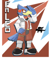 Falco Lombardi by GlassesGator